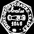 trades logo old white